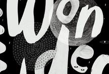 design :: hand lettering / Calligraphy and other forms of non-traditional or graphically interesting hand lettering.