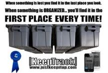 Garage Storage and Organization / Garage Improvements, Home Organization, and Storage Tote placement using space overhead that is high, dry and safe from pests.  Conveniently use our Smartphone App for locating your belongings easily to go straight to what you want!