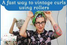 vintage hair tutorials / by Tasha
