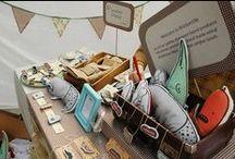 Market Stalls & Shop Displays / Inspiration for displays