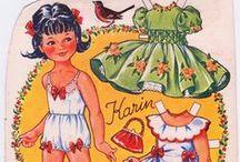 Paper Dolls / Always loved paper dolls