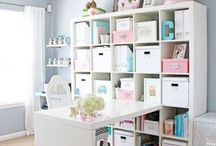 Studio Designs / Im creating a small office space for my business - so im finding inspiration / by Deanne Evans