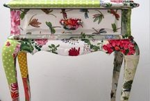 Decoupage Crafts / I love decopatch, some great inspiration ideas and my own makes