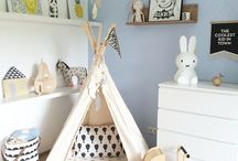 Nursery Inspiration / Ideas and Inspiration for nurseries and baby rooms