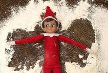 Elf on the shelf ideas / Elf was bought in NYC 2014 ... To make Christmas even more fun ...