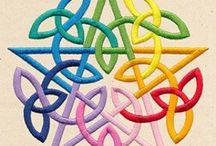 Knotwork (celtic, norse, siberian)