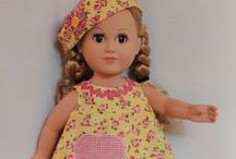 American Girl Dolls clothes sewing /  American Girl Dolls and Bitty Baby - sewing and crocheting clothes