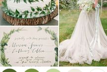 Colorful Inspirations / Color Palettes for Weddings and Events
