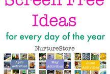 Kids Activities - Screen Free