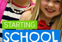 School / Homework / Learning / Everything for first day of school, starting school, starting a new school, school morning routines, school packed lunches, after school, homework, supporting and organising kids through school and learning