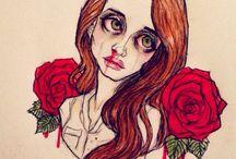The sad girl / you know you make my eyes burn