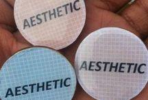 Aesthetics / smells like art