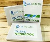 THINKBOOK / THIS IS YOUR THINKBOOK. It's a simple concept, clear as the pages within, designed for inspiration. So brainstorm, doodle, write or draw...make it your own! Some of the world's greatest ideas started with a blank page. What will you do with it?