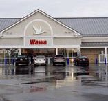 Wawa Fuel Refresh / Rain or shine, our install teams bear the worst of weather to get the job done!