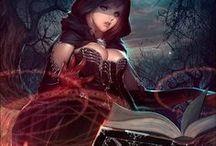 Character Design - Magician (Female)
