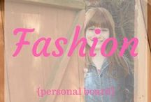 ~Fashion~ / Things I want to wear.