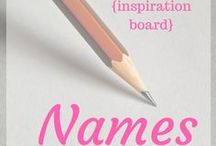 ~Names~ / For characters, of course. :)