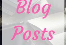 ~Blog Posts~ / Great blog posts. Some contain giveaways. Others are wise. Others are funny.