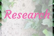 ~Research~ / any kind of research
