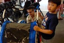 Riding with Kids / great bikes and accessories for riding with kids