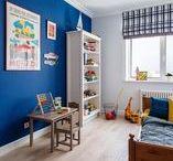 Детская - идеи интерьера / Дизайн детской комнаты: интерьер детской, идеи ремонта детской, примеры совмещение и зонирования детской комнаты.