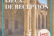Lieux de réception - Pays Basque - Sud Landes