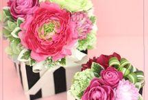 Flower arrangement / artificial flowerのヒント
