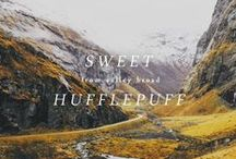[ aes ] - hufflepuff pride / ( HARRY POTTER ) - - House Pride