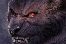 [ d&d ] - dust / ( D&D // DUST ) - - Razorclaw Shifter. Ranger. Monster Hunter.