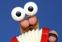 Pin-teresting Puppets / Puppet characters made with ♥