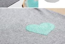 T-Shirt Projects / Things to do with old tee shirts and ways to make cheap tee shirts rock.