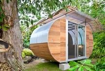 Cabin/ treehouse / by Jeanne Park Pakulski