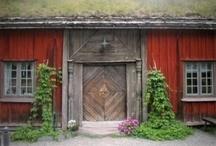 ....norvegian wood houses....