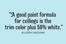 PAINTING TIPS / by Dixie Woods