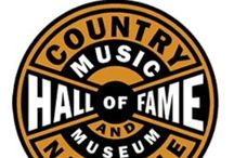 C ~ COUNTRY Hall Of Fame / COUNTRY HALL OF FAME @ AWARDS #  Artists who include /Patsy Cline # Vince Gill # Gene Autry# George Straight # Country Artists #.  / by Linda Sherrin