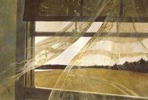 M ~ Art ~Andrew Wyeth... N.C. Wyeth ...  ART / Maine Artist.. / by Linda Sherrin