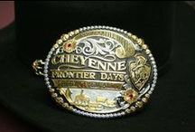 The Buckles Of Frontier Days / Take a look at all of the buckles we've had over the years!