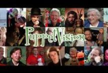 Making PuppetVision / Images, video & more from the making of PuppetVision