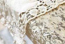 LOVELY LACE / Lace and more Lace / by Elaine Trentadue