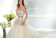 WEDDING DRESSES / WEDDING GOWNS AND DRESSES / by Elaine Trentadue