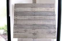 Pallet ideas / I love the rustic look of pallets combined with the trend to repurpose & upcycle. What a great combination! / by Sherry Hassett