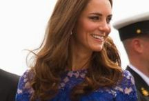 KATE MIDDLETON / by Elaine Trentadue
