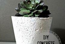 Hypertufa/Concrete..creative.
