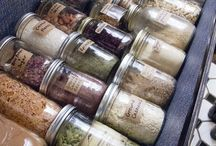 Herb(s) & Spice(s) / ... And infusions, and tinctures, and the like! / by McKenzie (Bat'Yah)