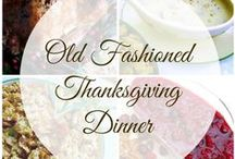 Thanksgiving Favorites / Decor, recipe and entertaining tips for your Thanksgiving celebration.