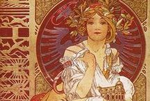 Alphonse Mucha / by Cynthia Connelly
