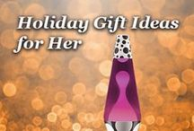 Holiday Gifts for Her / Lava Lamps suggested for Her..  / by Lava Lamp