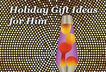 Holiday Gifts for Him / Lava Lamps for Him- Holiday pics / by Lava Lamp
