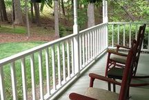 Porches / Whether it's a back porch, a screened in porch or a front porch--it's often my favorite room in the house!