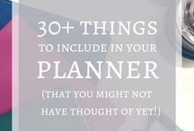 Planners and journal